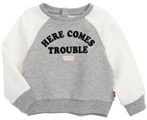 Levi's Infant Girl's Here Comes Trouble Graphic Tee