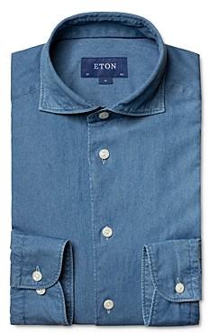 Eton Slim Fit Soft Chambray Shirt