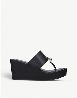Aldo Dreamer platform wedge sandal
