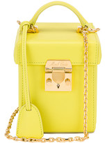 Mark Cross Grace Cube Bag in Citron | FWRD