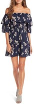 Cupcakes And Cashmere Women's Benita Off The Shoulder Dress