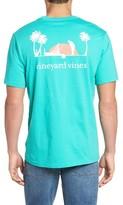 Vineyard Vines Men's Tropical Putt Pocket T-Shirt