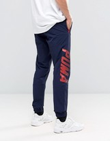 Puma Speed Font Woven Joggers In Blue 57161008