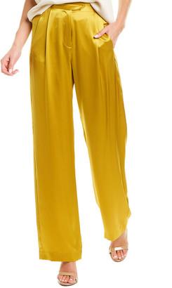 Mason by Michelle Mason Wide Leg Silk Trouser