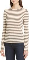 Theory Stripe Tiny Long Sleeve T-Shirt