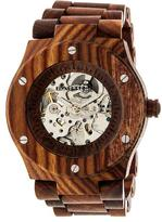 Earth Grand Mesa Collection ETHEW3103 Unisex Wood Watch with Wood Bracelet-Style Band