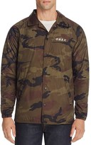 Obey Camouflage Coach Jacket - 100% Exclusive