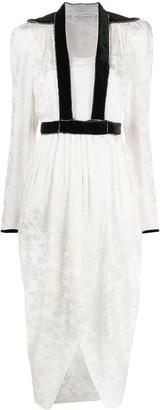 Philosophy di Lorenzo Serafini Contrast Trim Dress
