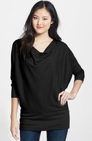 LAmade Women's 'Aidan' Drape Neck Thermal Top