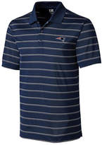 Cutter & Buck Men's New England Patriots Venture Stripe Polo