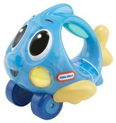 Little Tikes Lil' Ocean Explorers - Push 'n Glow Fish- Blue