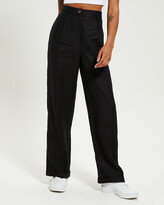 Thumbnail for your product : Subtitled Women's Pants - Linen Slouch Trousers - Size One Size, M at The Iconic