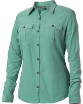 Royal Robbins Women's Cascade Cord Long Sleeve Button Down
