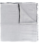 Faliero Sarti raw edge scarf - men - Silk/Modal - One Size