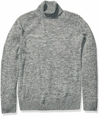 Goodthreads Amazon Brand Men's Supersoft Marled Turtleneck Sweater