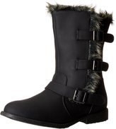 Kenneth Cole Reaction Kenneth Cole Reactio Allie Fur Youth US 4 Black Winter Boot
