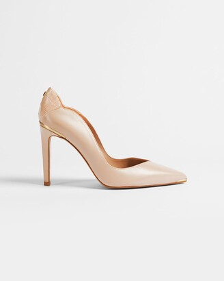 Ted Baker Leather Stiletto Court Shoes
