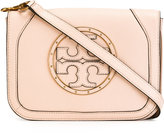Tory Burch logo cross body bag - women - Leather - One Size