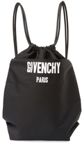 Givenchy Solid Drawstring Bag