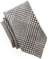Drakes Drake's Linen Glenn Plaid Tie