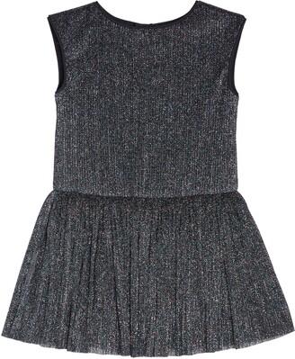 Pippa & Julie Shimmer Drop Waist Dress