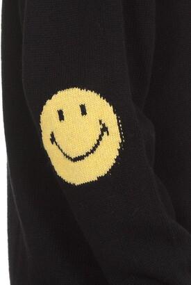 Joshua Sanders Elbows Smiley Sweater