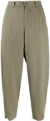 Transit Cropped Tapered Trousers