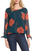 Cupcakes And Cashmere Women's Josette Floral Top
