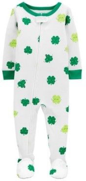 Carter's Baby Boy or Girl St. Patrick's Day Snug Fit Cotton Pajamas