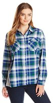 G.H. Bass & Co. Women's WM Brct Woven Shirt