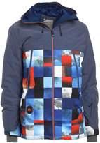 Quiksilver Sierra Snowboard Jacket Blue/red/icey