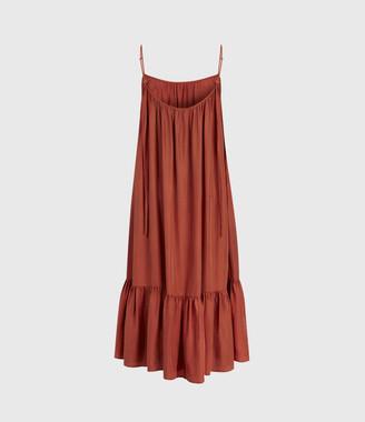 AllSaints Paola Silk Dress
