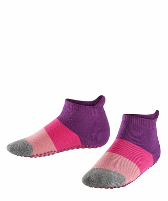 Falke Kids Colour Block Catspads Slipper Socks - 90% Cotton