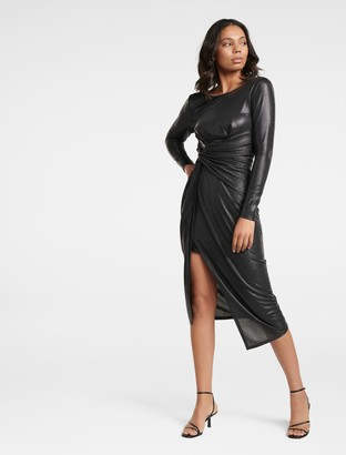 Ever New Tessa Twist Long-Sleeved Dress