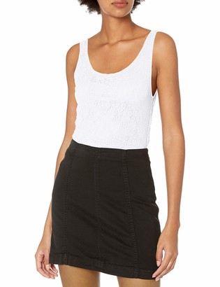 Only Hearts Women's Stretch Lace Low Back Tank