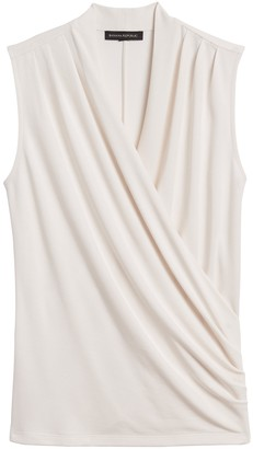 Banana Republic Wrap-Effect Top