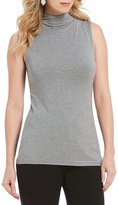 Investments Sleeveless Essentials Mini Mock Neck Top