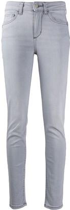 Liu Jo High-Rise Bleached Skinny Jeans