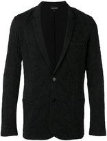 Emporio Armani cloqué blazer - men - Cotton - S