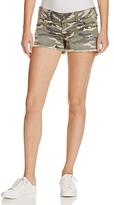 True Religion Keira Cutoff Shorts in Vintage Camo
