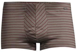 Hanro Sporty Stripe Cotton Boxer Briefs