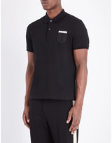 Gucci Serpent Shield Cotton-piqué Polo Shirt