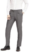 Banana Republic Standard Grey Wool Herringbone Suit Trouser