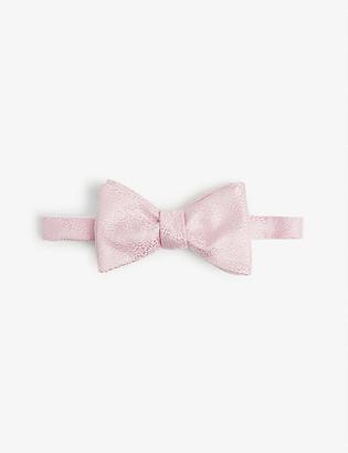 Eton Jacquard silk bow tie