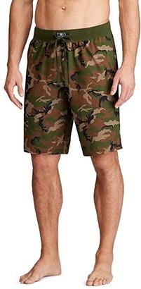 Polo Ralph Lauren Knit Sleep Shorts (Surplus Camo) Men's Pajama