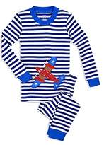 Sara's Prints Unisex Airplane Pajama Shirt & Pants Set - Little Kid