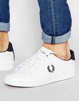 Fred Perry Hopman Leather Sneakers
