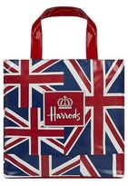 Harrods Small Vintage Flag Shopper Bag