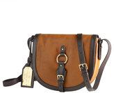 LAUREN BY RALPH LAUREN Harbridge Leather Saddle Bag