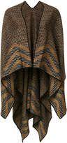 Missoni open front cape